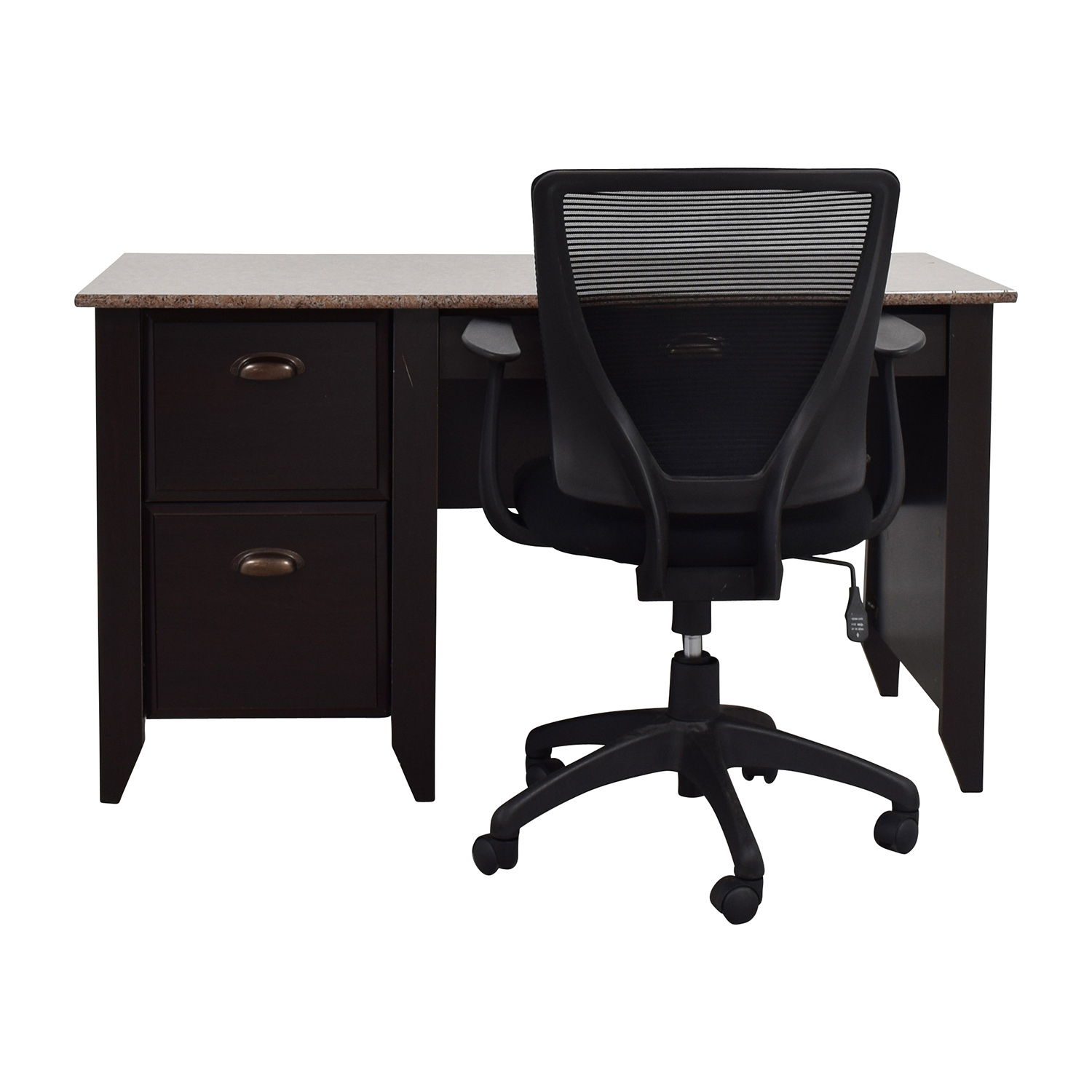 53 Off Computer Table With Office Chair Tables