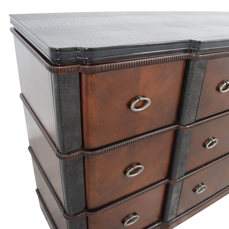 Raymour & Flanigan Raymour & Flanigan Nine-Drawer Dresser for sale