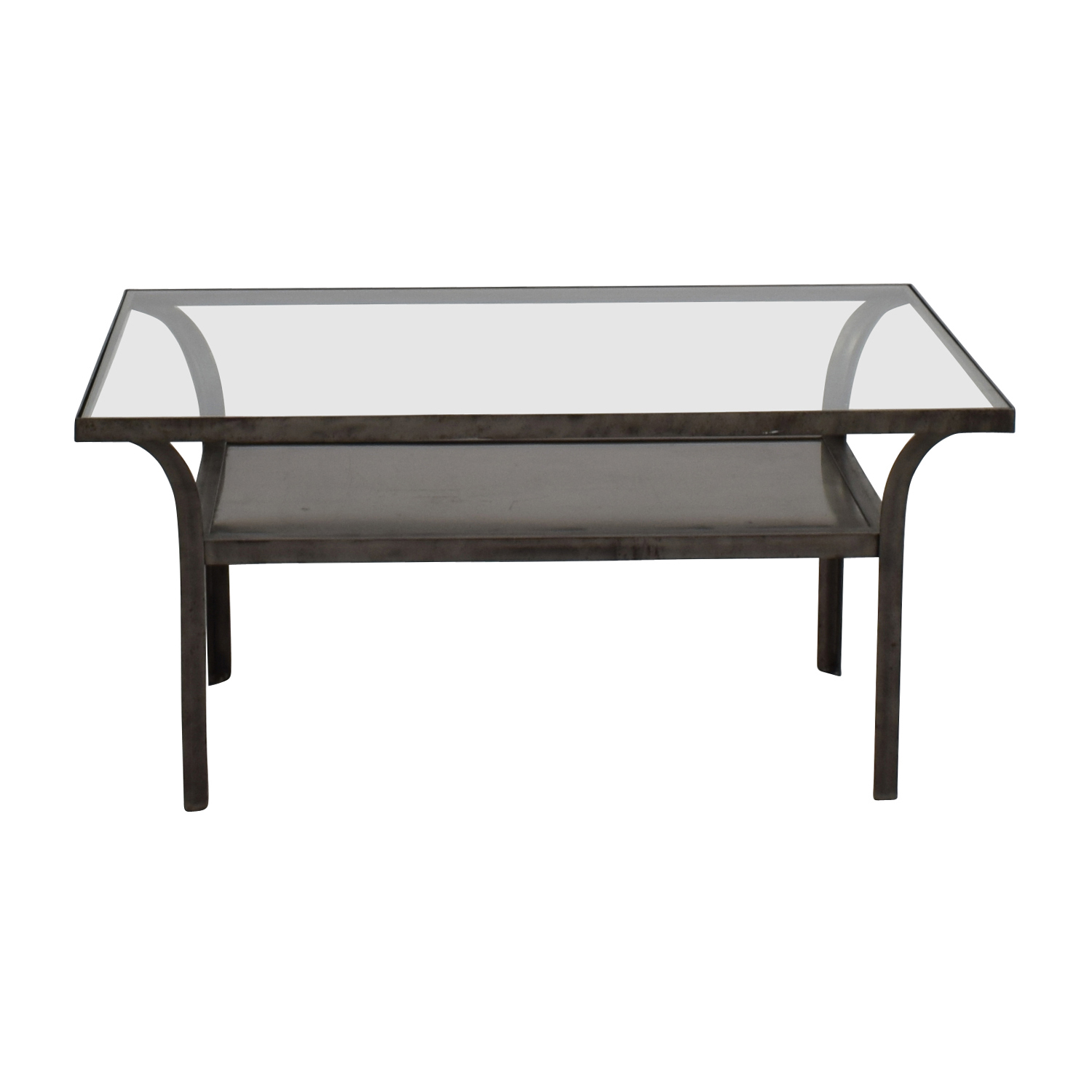 Great Shop Crate And Barrel Metal And Glass Coffee Table Crate And Barrel Tables  ...