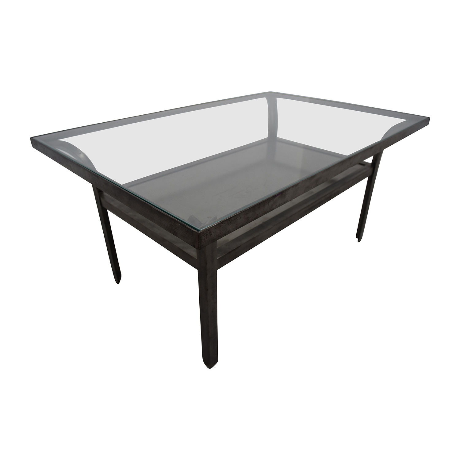 Crate And Barrel Metal Gl Coffee Table Online