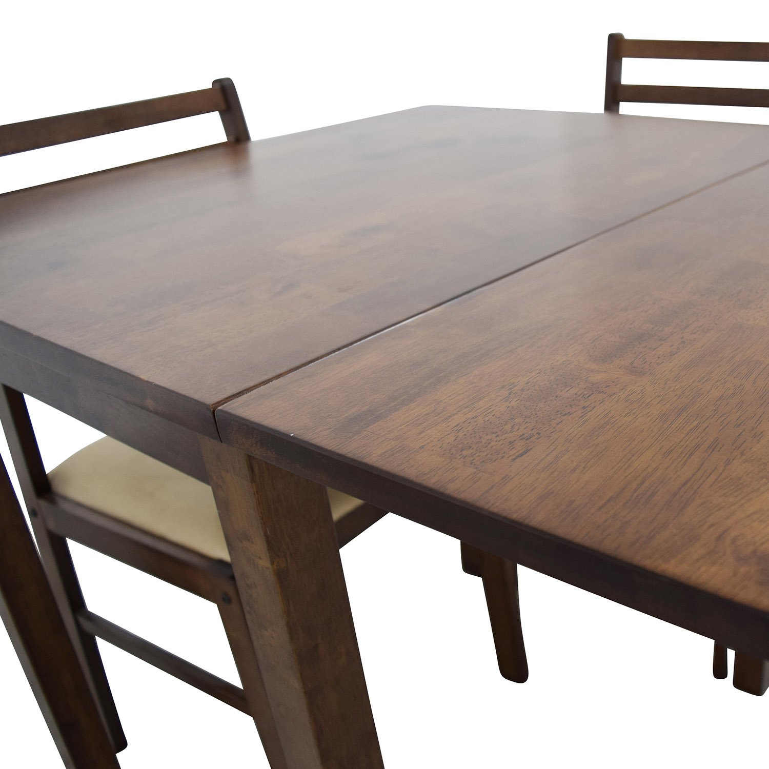 buy Mid-Century Table Set with Two Chairs online