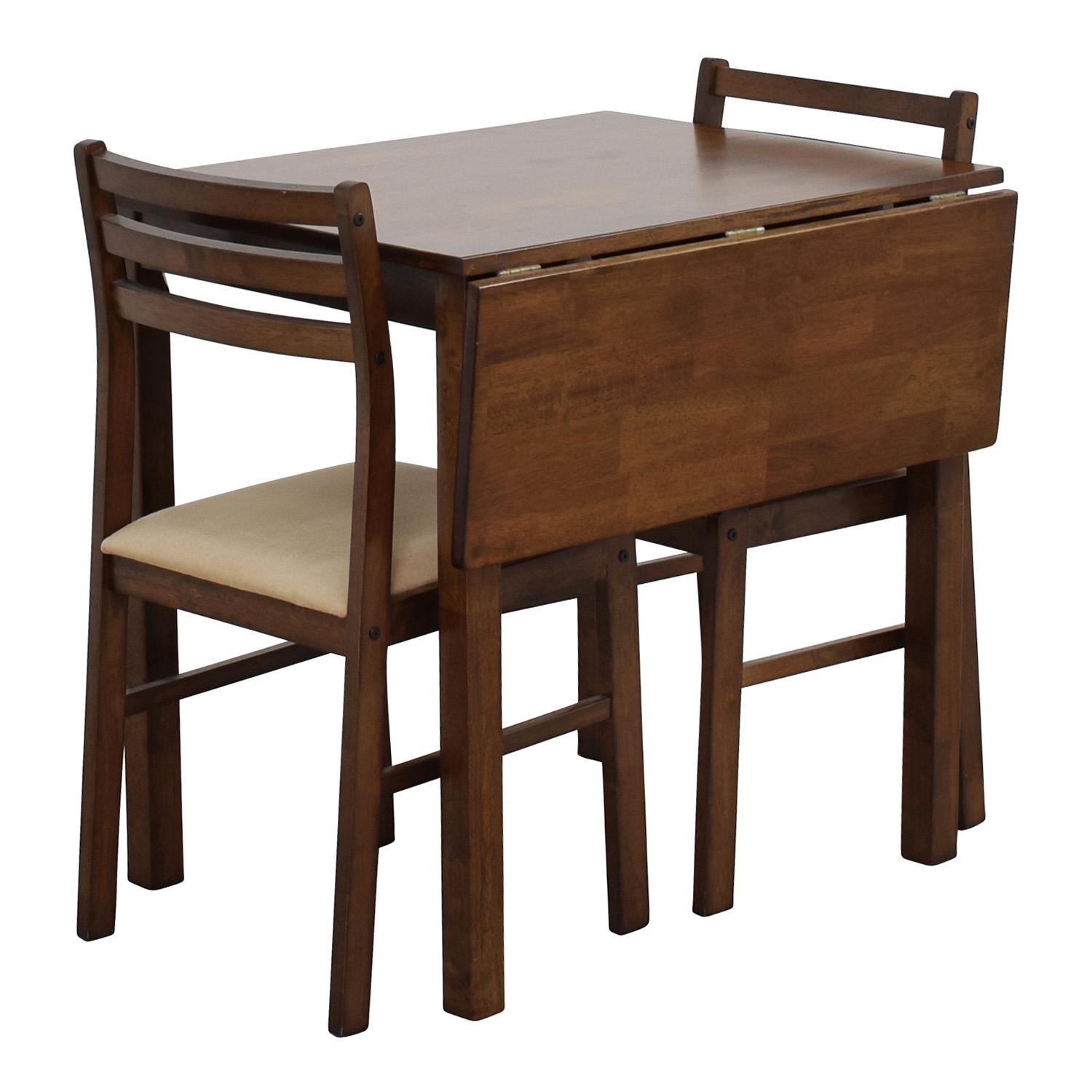 Mid-Century Table Set with Two Chairs