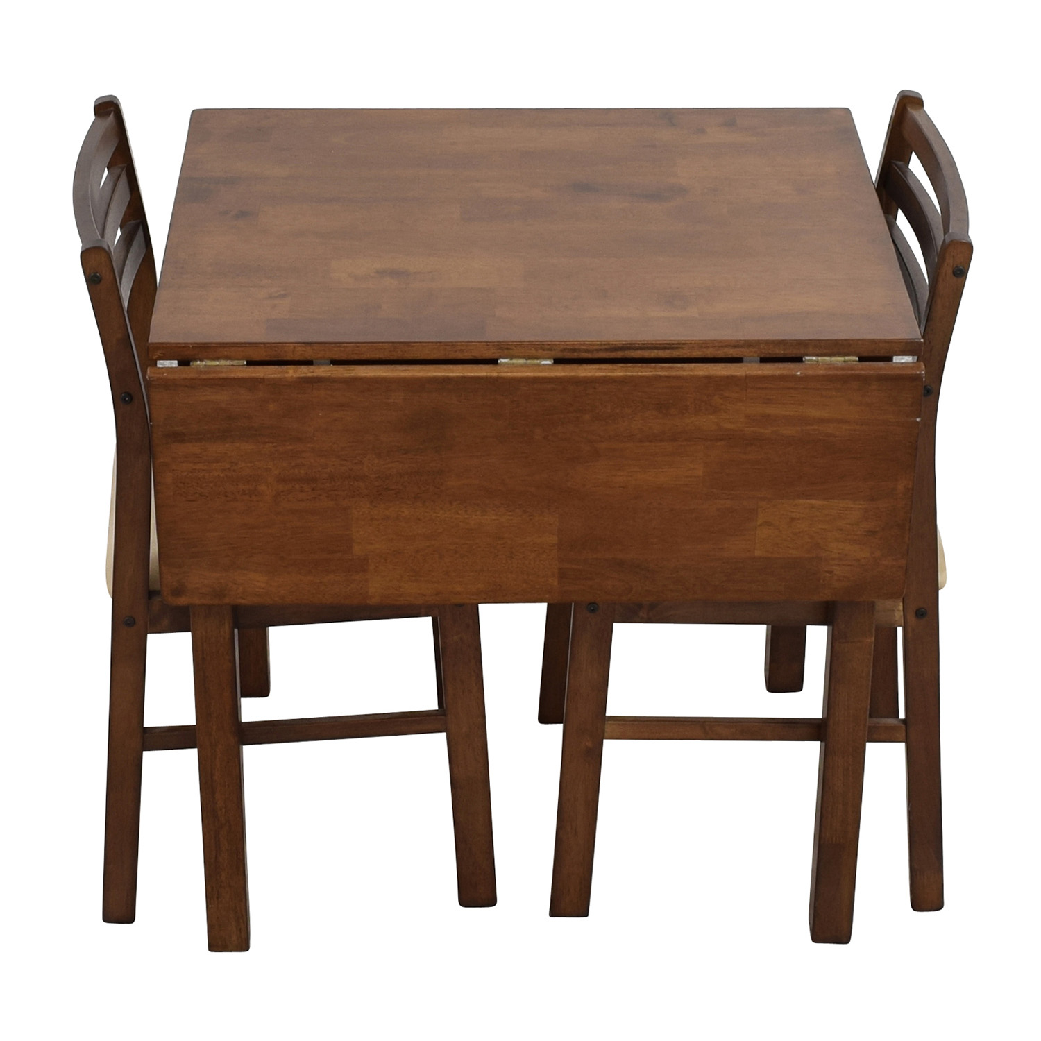 shop Mid-Century Table Set with Two Chairs online