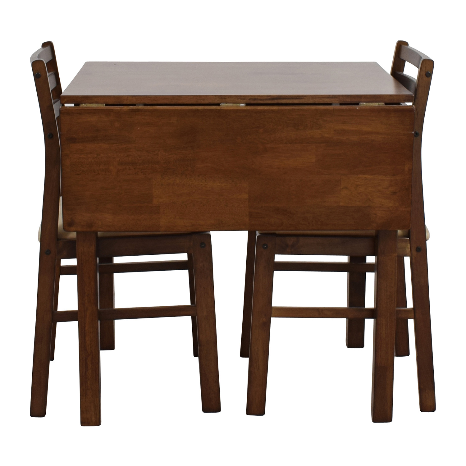 Mid-Century Table Set with Two Chairs second hand