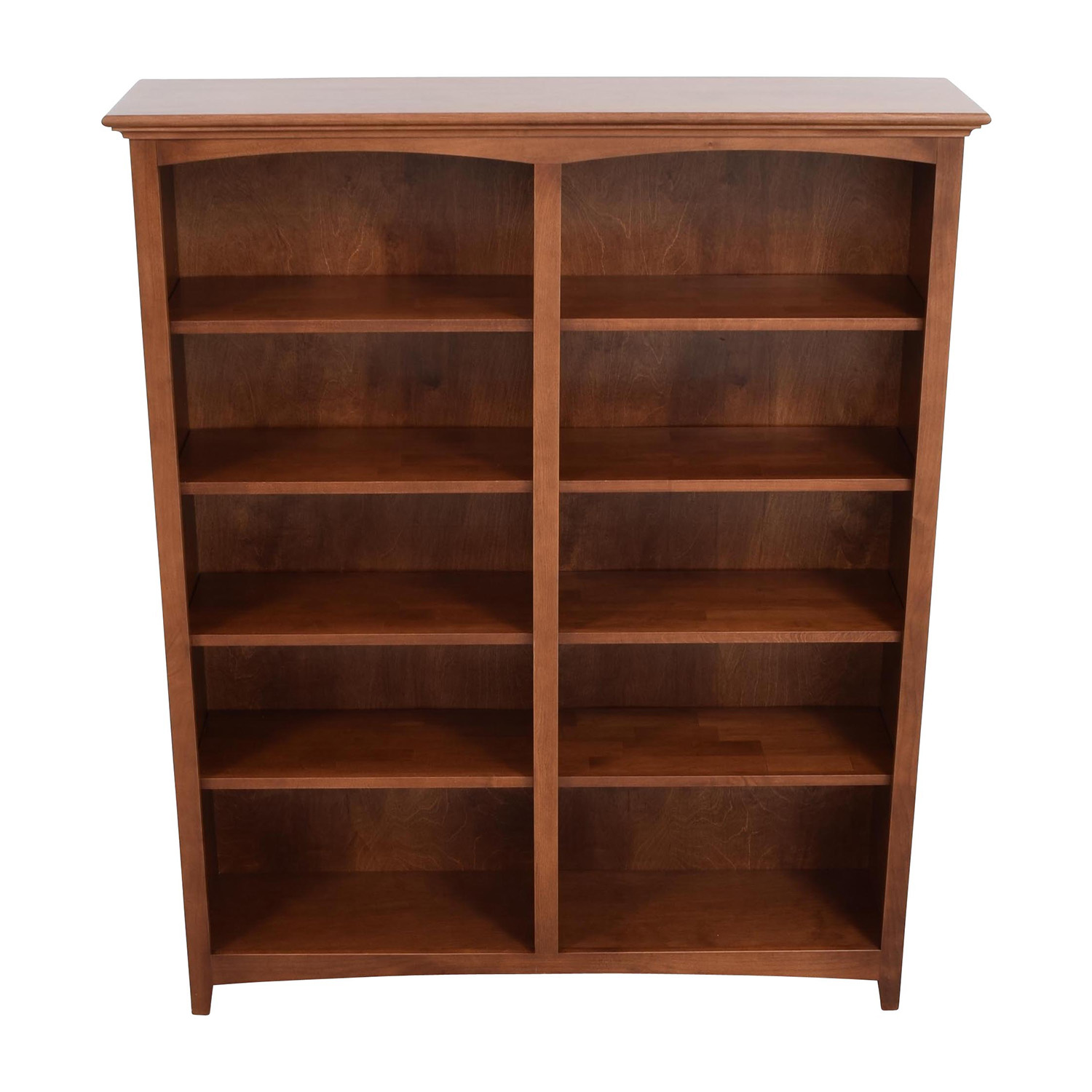Whitter Wood Furniture Whitter Wood Furniture Ten-Shelf Bookcase second hand