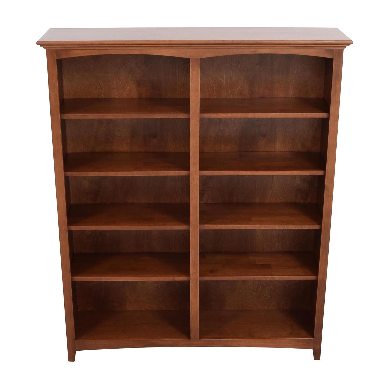 Whitter Wood Furniture Whitter Wood Furniture Ten-Shelf Bookcase price