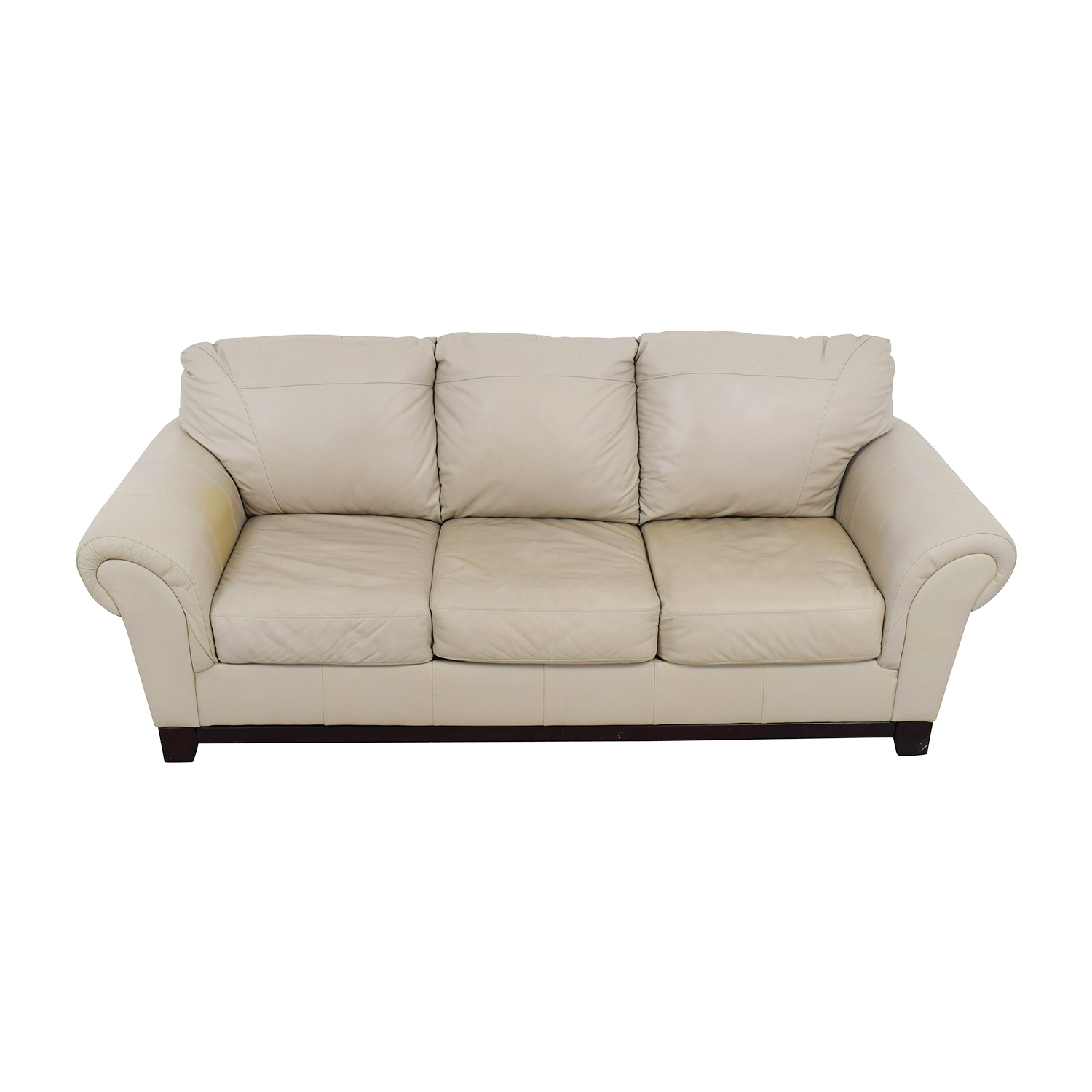 buy Taupe Leather Couch