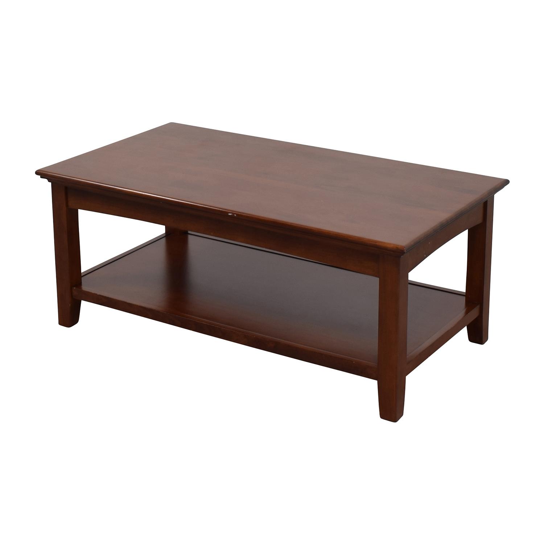 buy Whittier Wood Furniture GAC McKenzie Cocktail Table Whittier Wood Furniture Tables