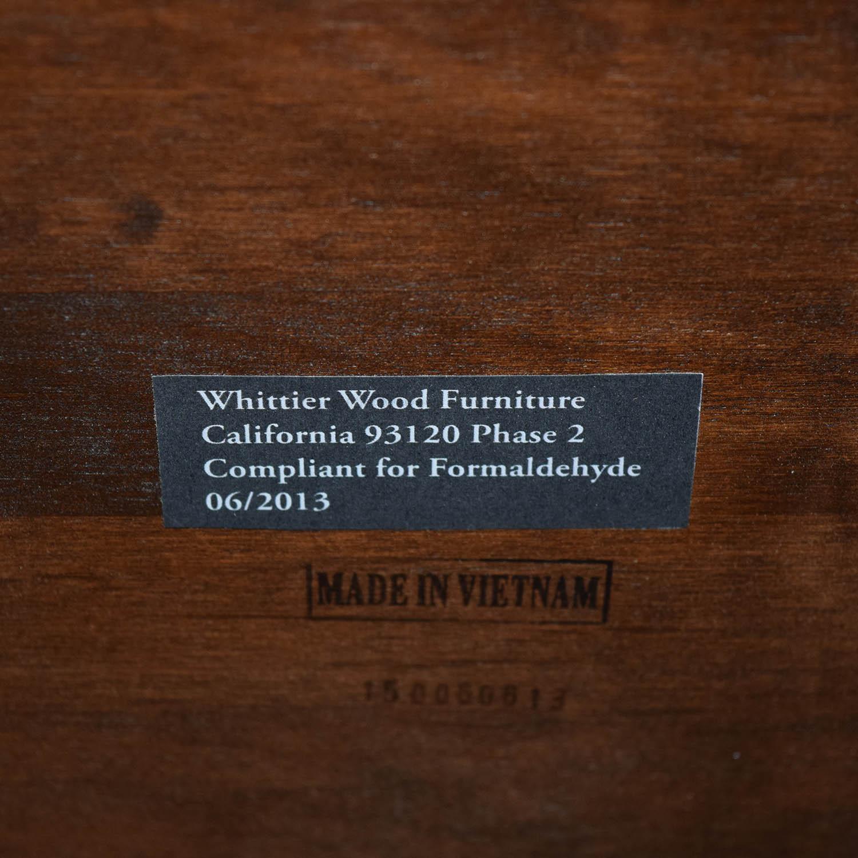 Whittier Wood Furniture Whittier Wood Furniture GAC McKenzie Cocktail Table