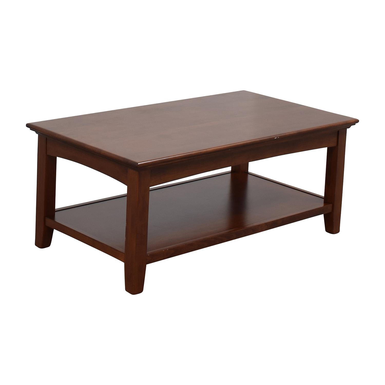 Whittier Wood Furniture Whittier Wood Furniture GAC McKenzie Cocktail Table coupon