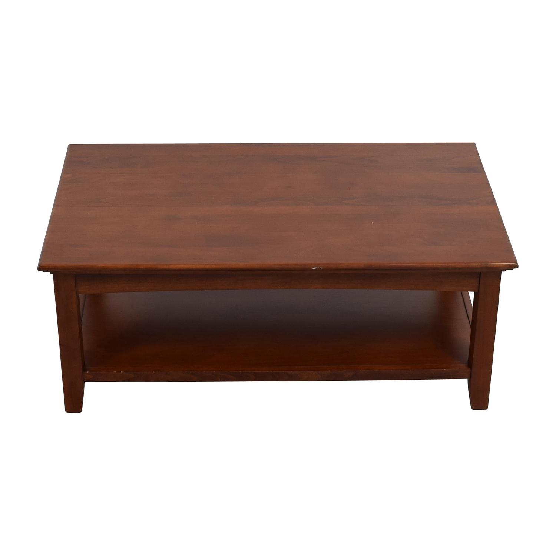 Whittier Wood Furniture Whittier Wood Furniture GAC McKenzie Cocktail Table brown