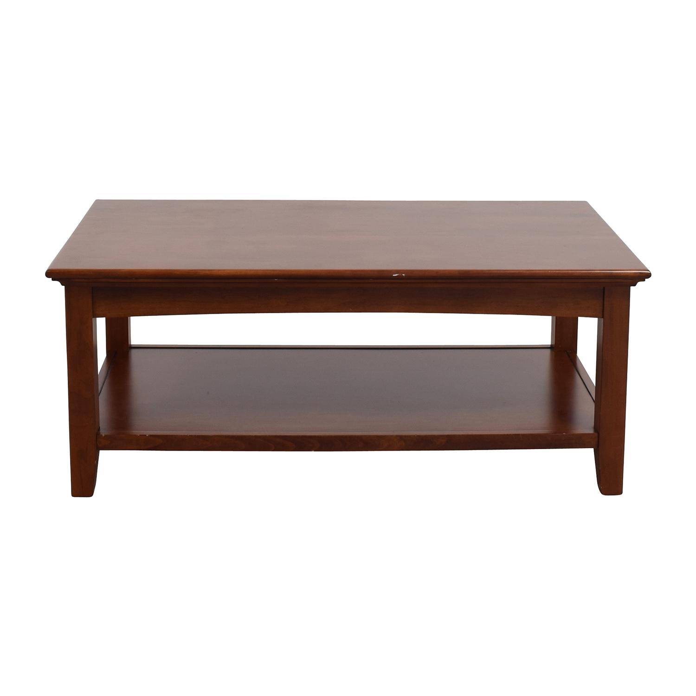 shop Whittier Wood Furniture GAC McKenzie Cocktail Table Whittier Wood Furniture Tables