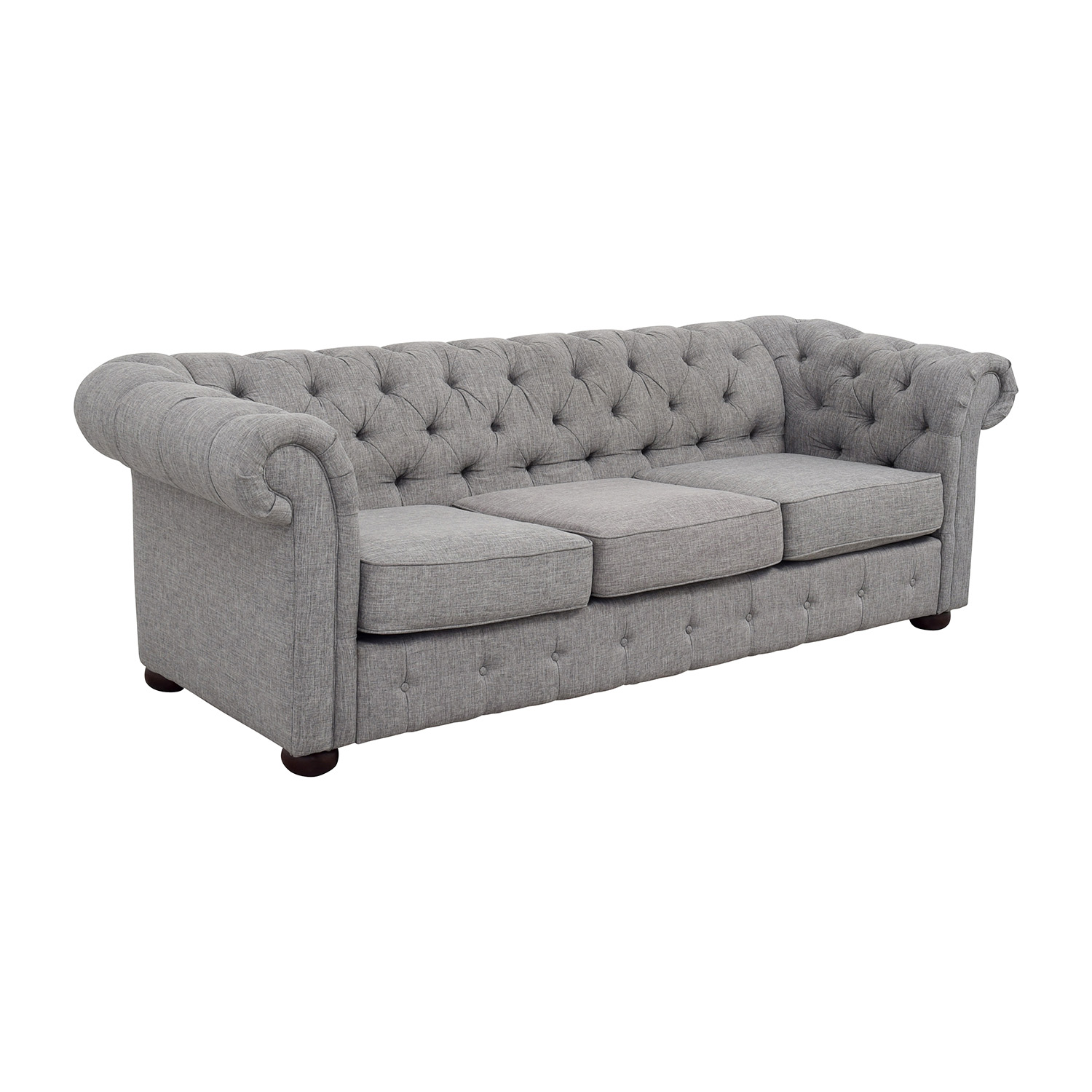 House of Hampton House of Hampton Augustine Tufted Chesterfield Sofa used