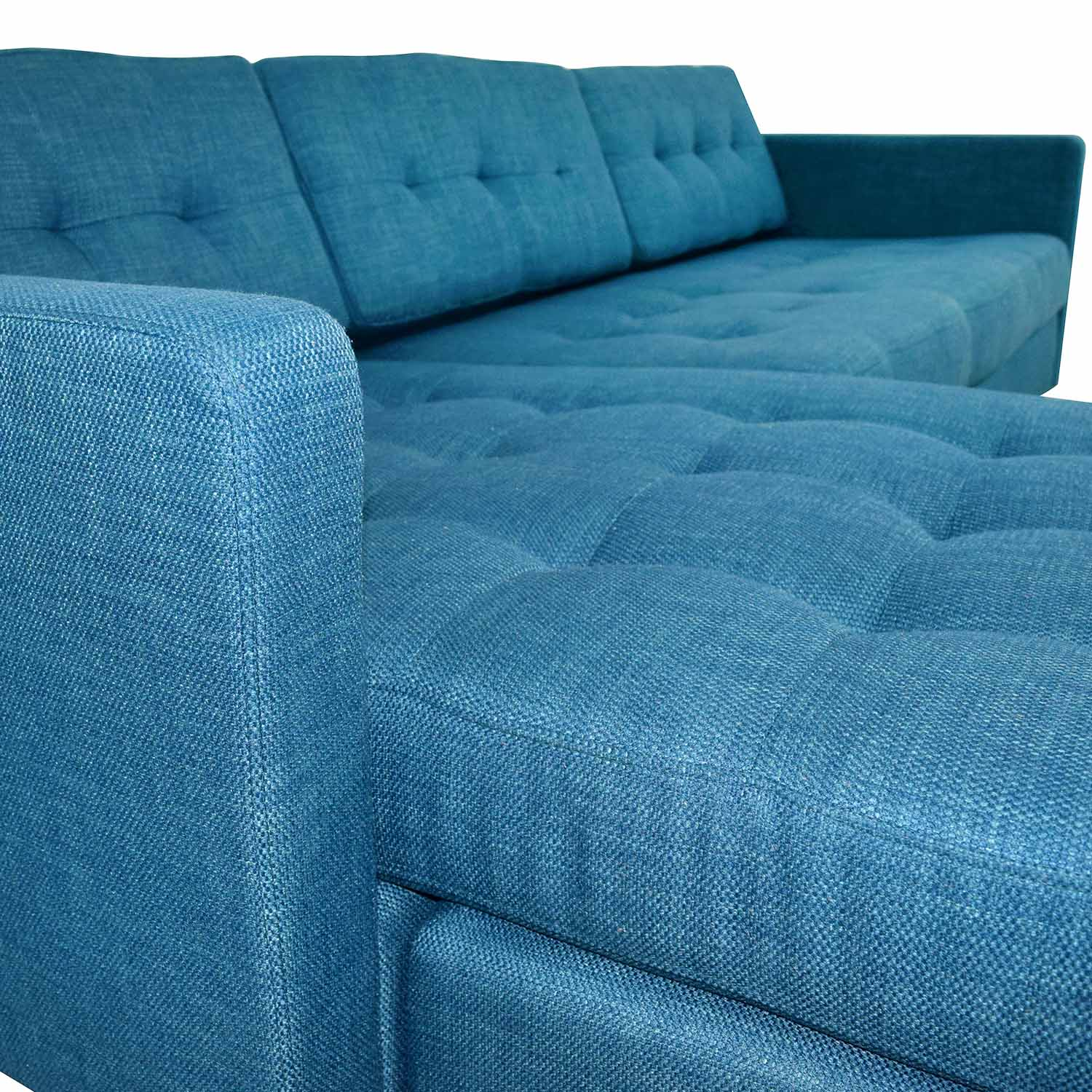 Admirable 33 Off Cb2 Cb2 Ditto Ii Peacock Sectional Sofa Sofas Pdpeps Interior Chair Design Pdpepsorg