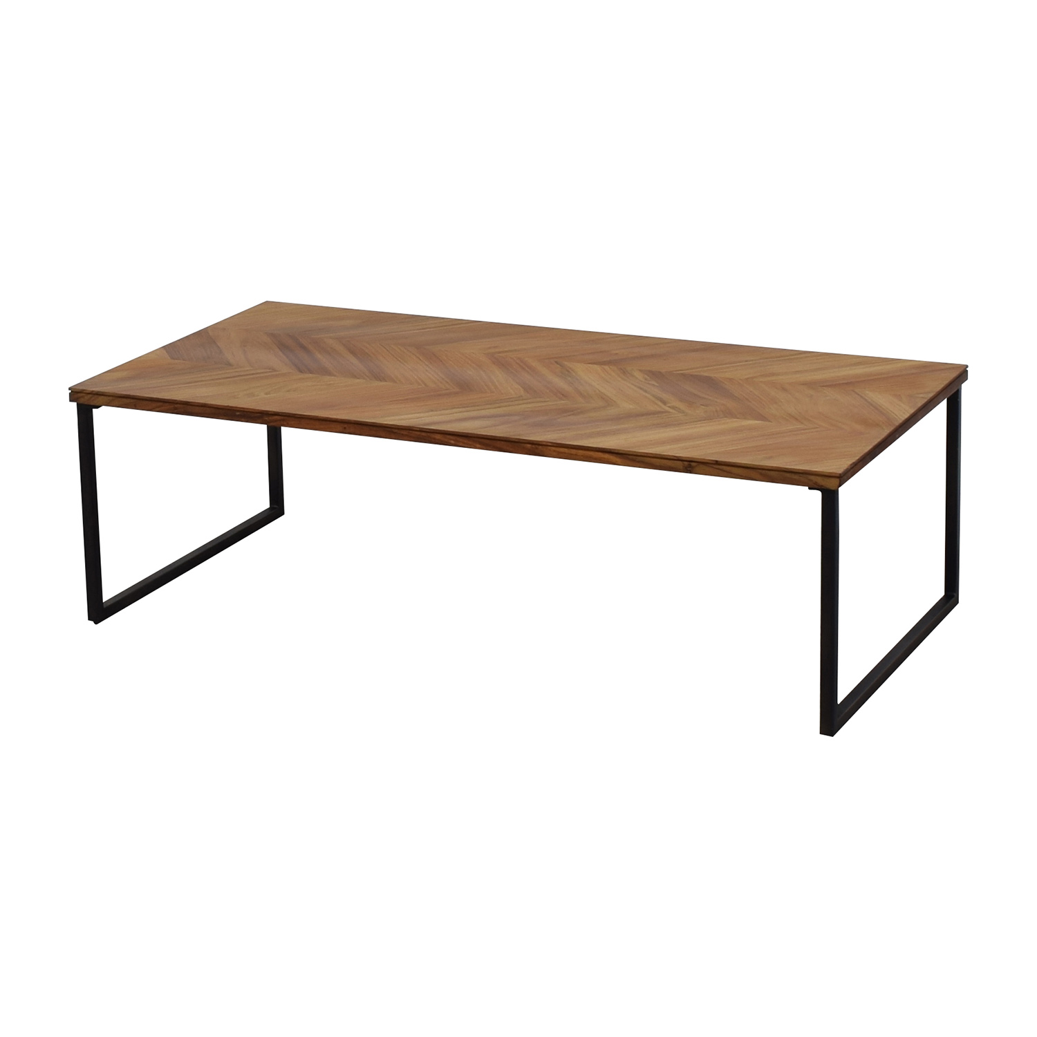 34 Off Cb2 Cb2 Chevron 48 Coffee Table Tables
