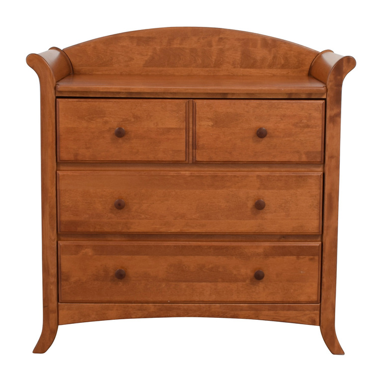 Four-Drawer Changing Table Top Dresser discount
