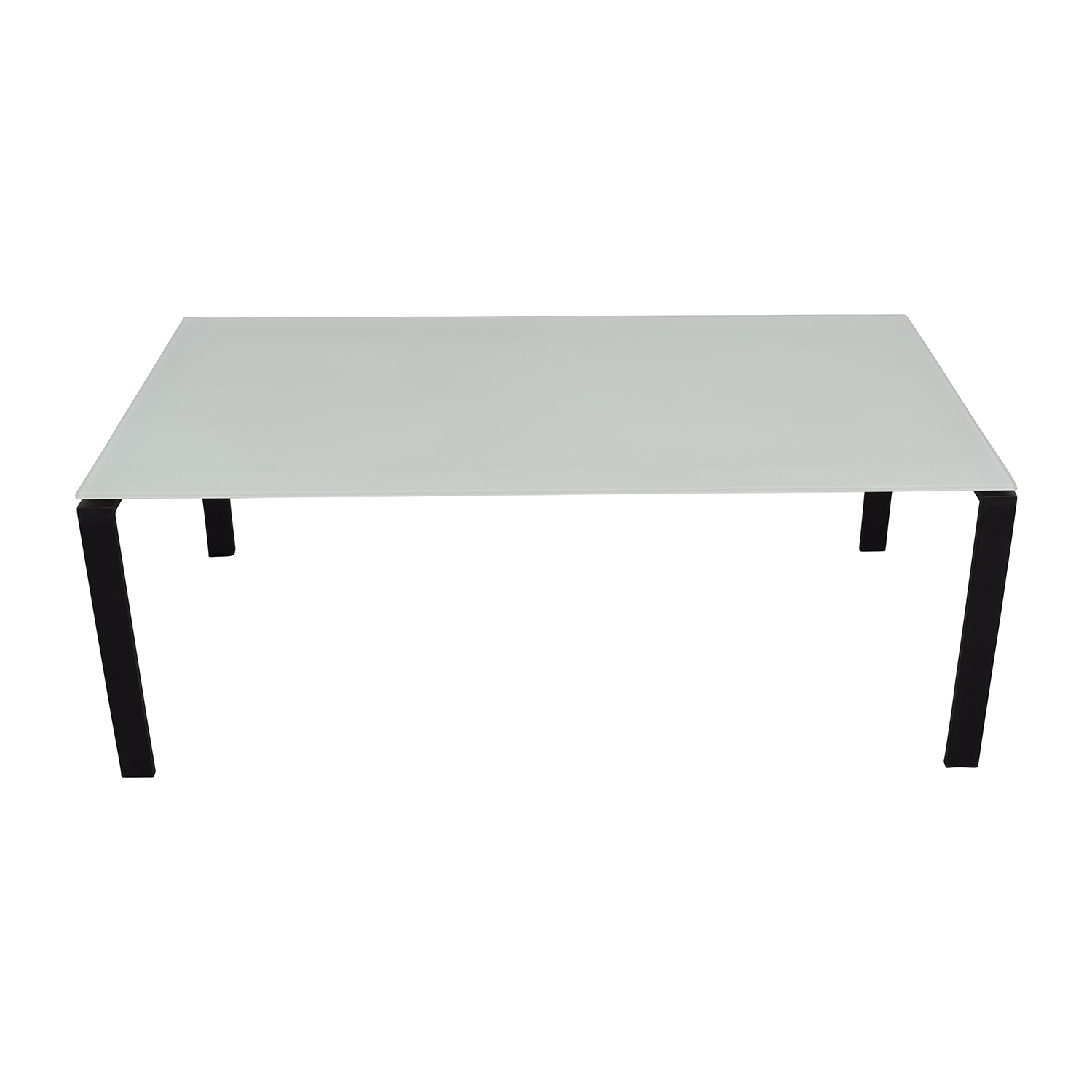 Room & Board Room & Board Rand Table in Natural Steel translucent