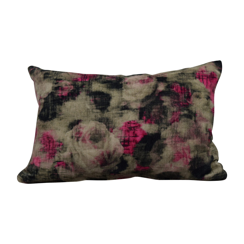 West Elm Splatter Pillow / Decorative Accents