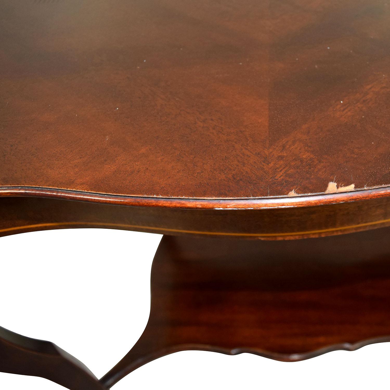 RJ Horner RJ Horner Antique End Table with Shelf End Tables