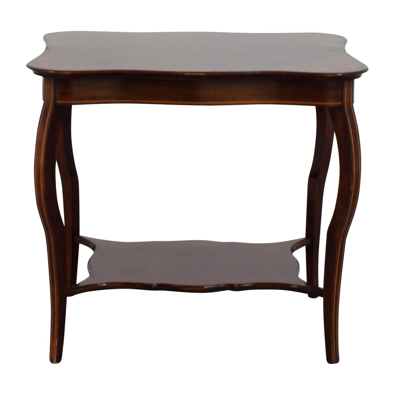 RJ Horner RJ Horner Antique End Table with Shelf used
