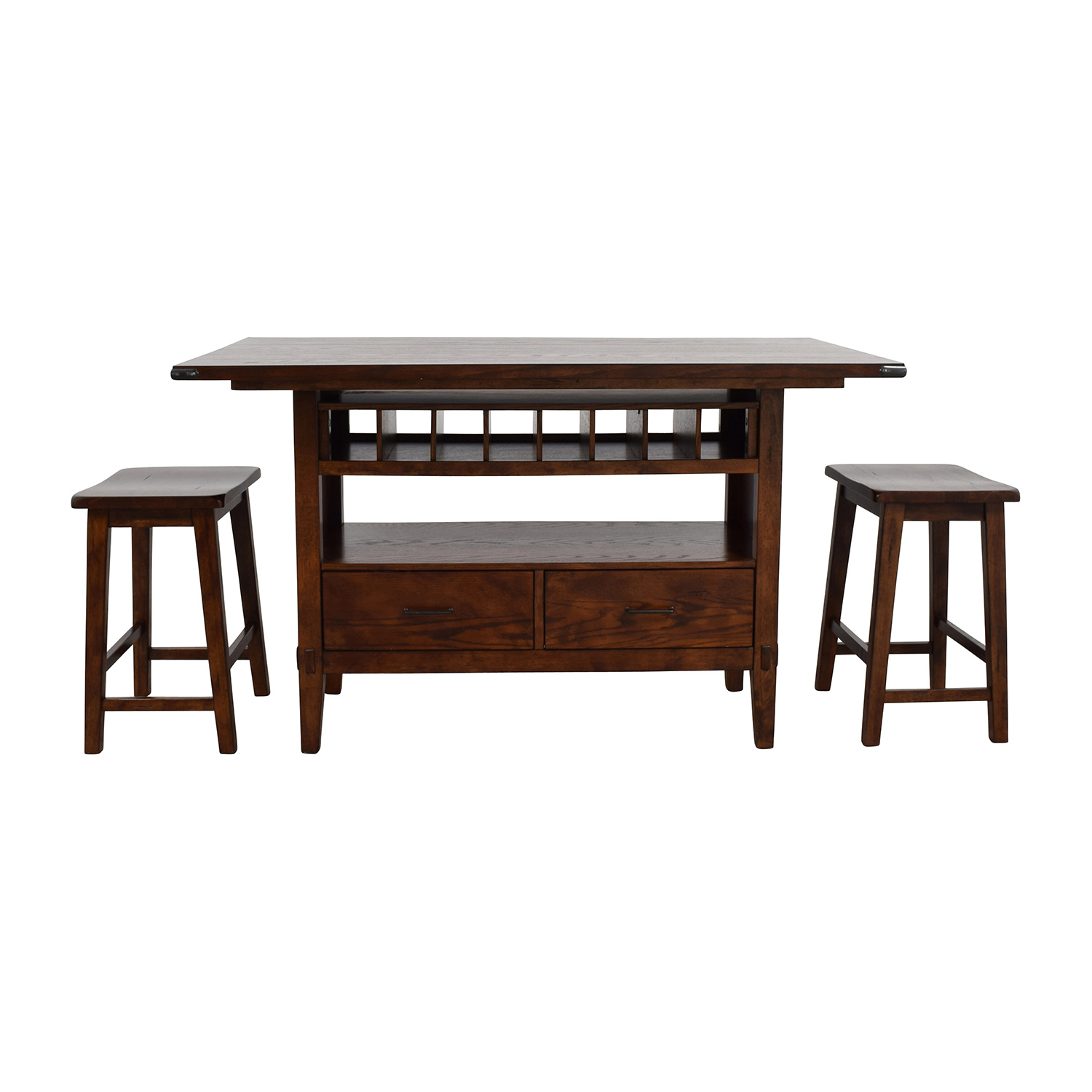 Liberty Furniture Industries, Inc Liberty Furniture Cabin Fever Counter Height Dining Set second hand