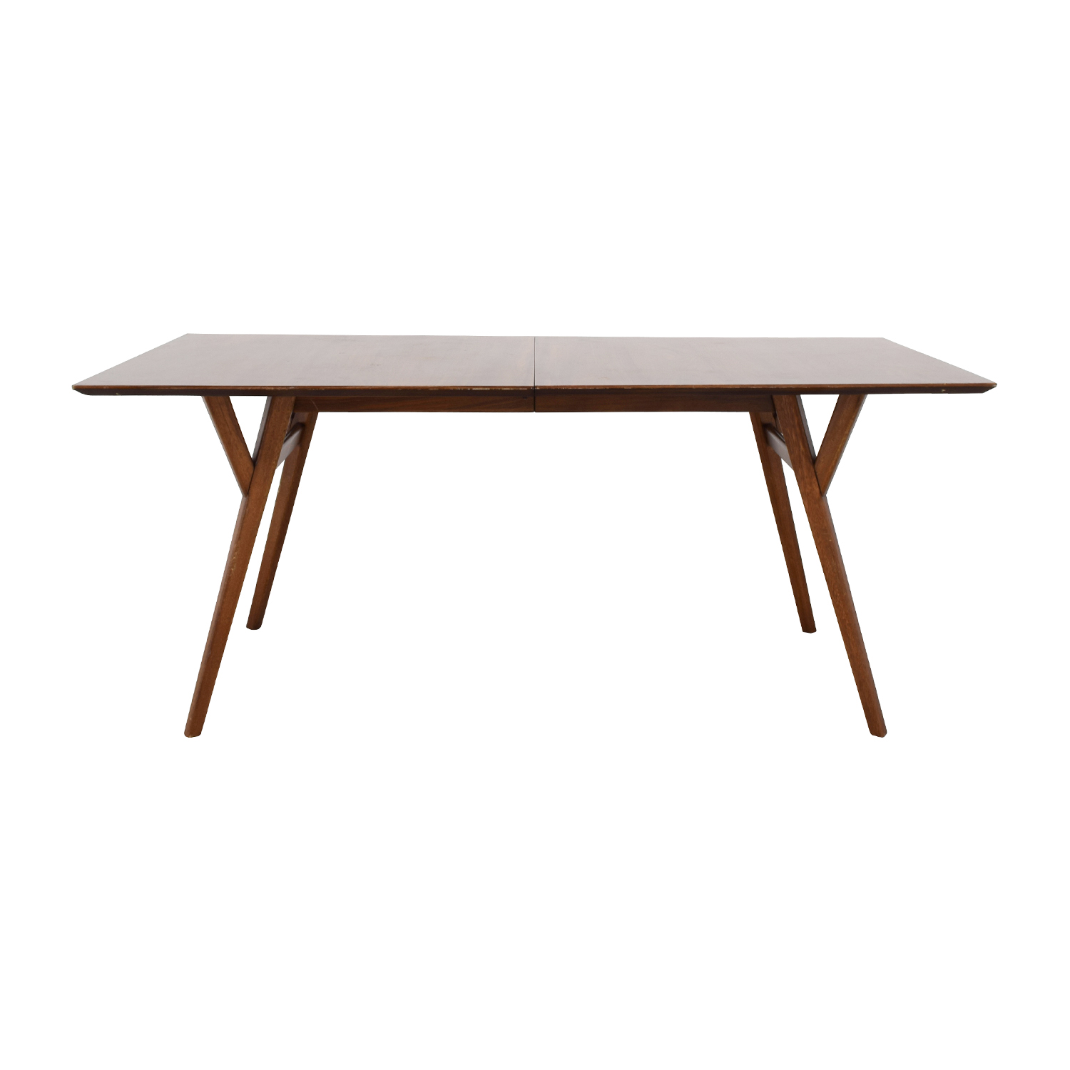 West Elm West Elm Mid-Century Large Expandable Dining Table second hand