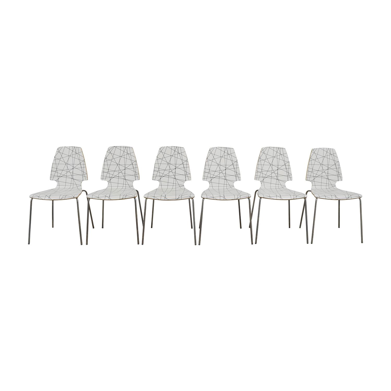 225 & 70% OFF - IKEA IKEA Vilmar Dining Chairs / Chairs