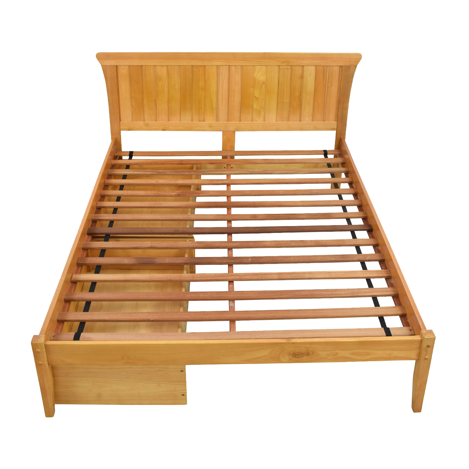 Solid Wood Bedframe with Storage nyc