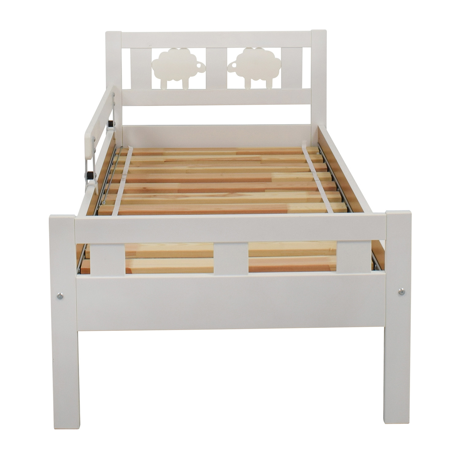 Ikea Critter Toddler Bed White