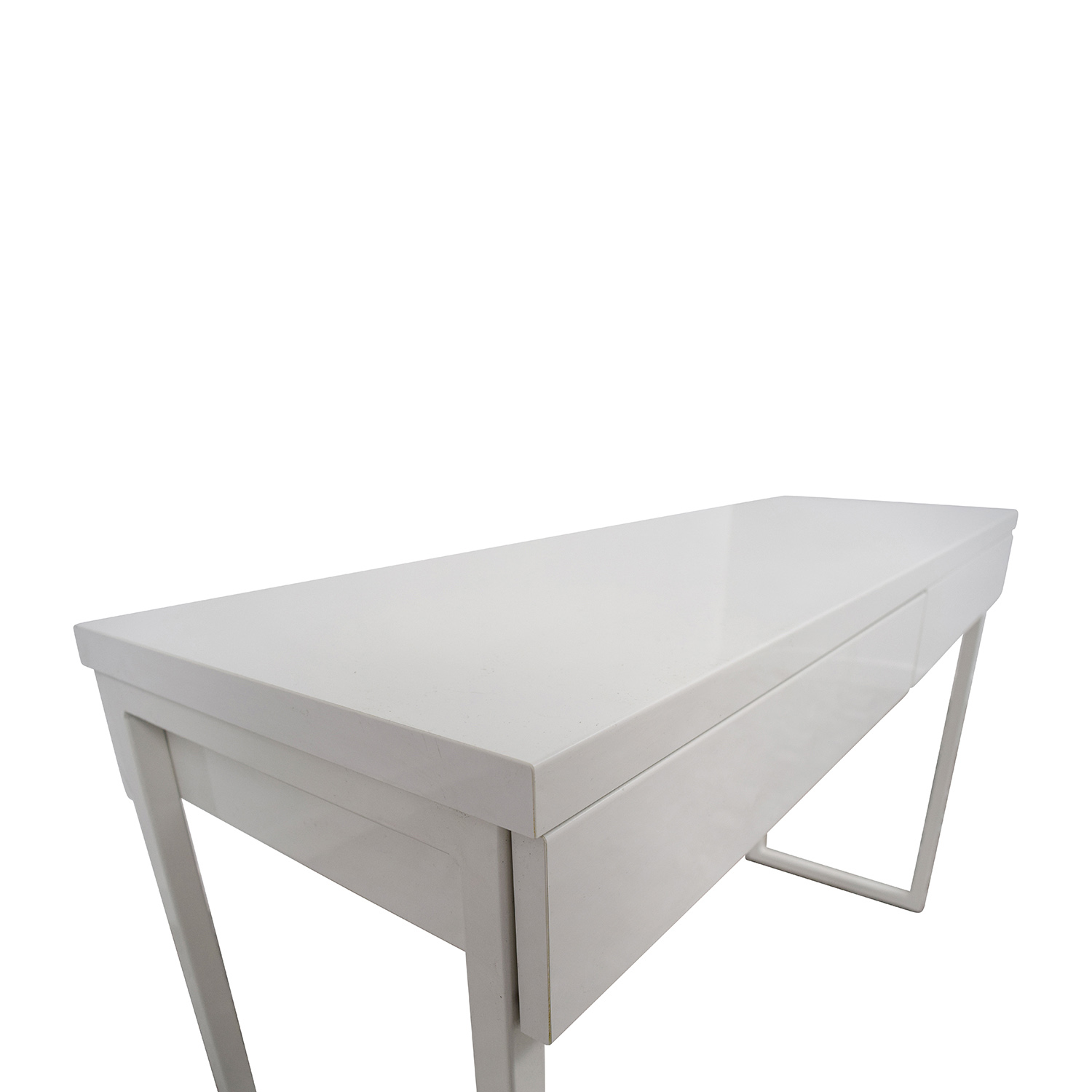 33% OFF IKEA IKEA Besta Burs White Two Drawer Desk Tables