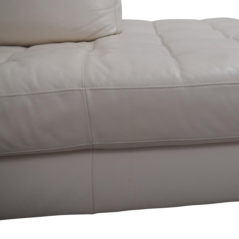 Macy S Macy S Zane White Leather Sofa Sofas: Macy's Macy's Milano White Leather Two Piece