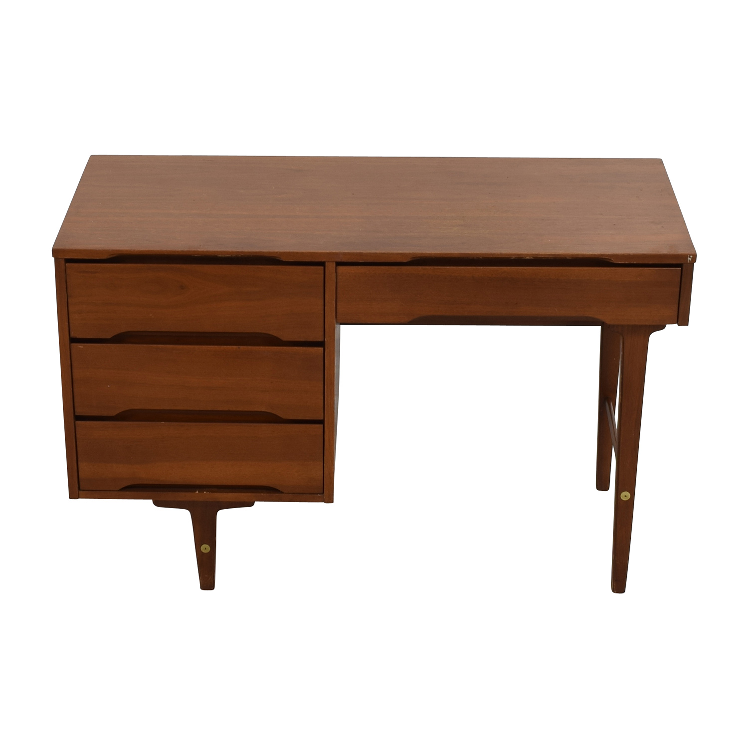 shop Solid Wood Four-Drawer Desk