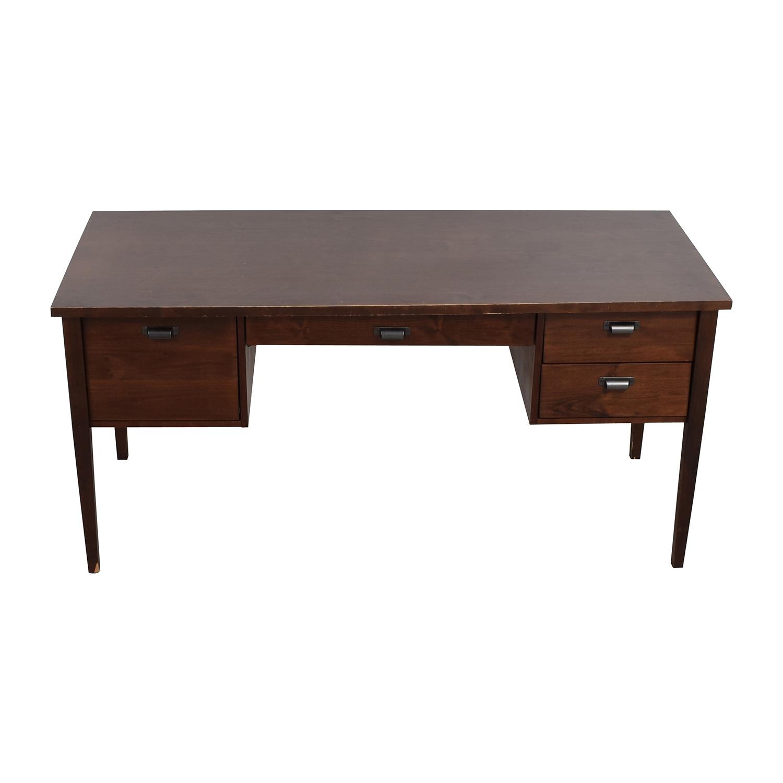 Crate & Barrel Crate & Barrel Hardwood Desk used