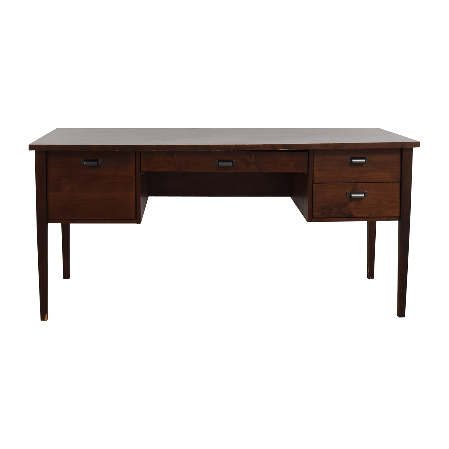 Crate & Barrel Crate & Barrel Hardwood Desk second hand