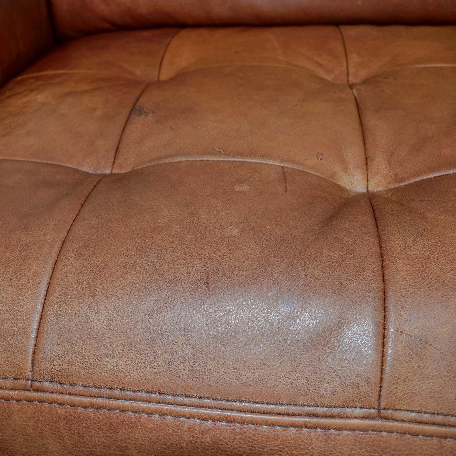 buy W. Schillig Leather Sectional with Ottoman W. Schillig Sectionals