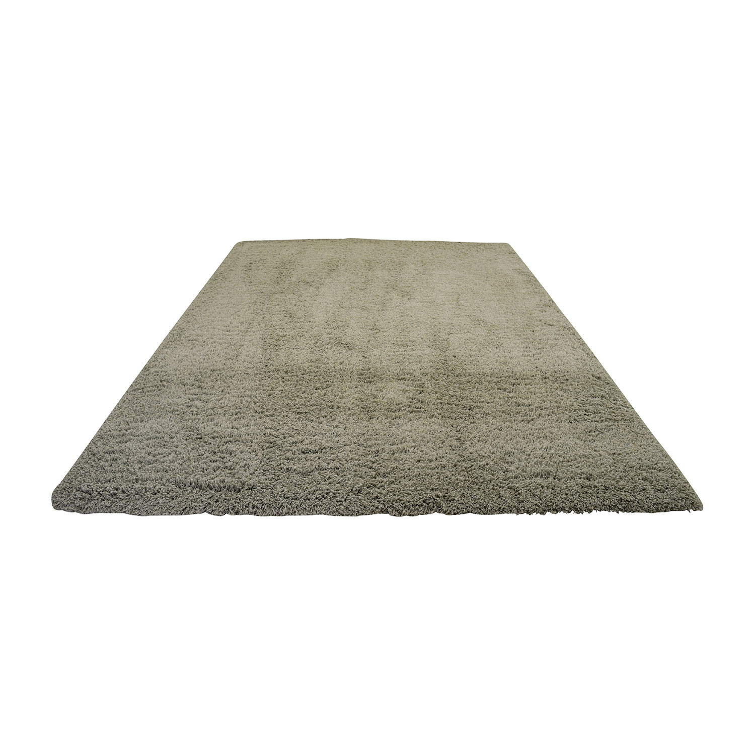 Ethan Allen Grey Rug / Decor