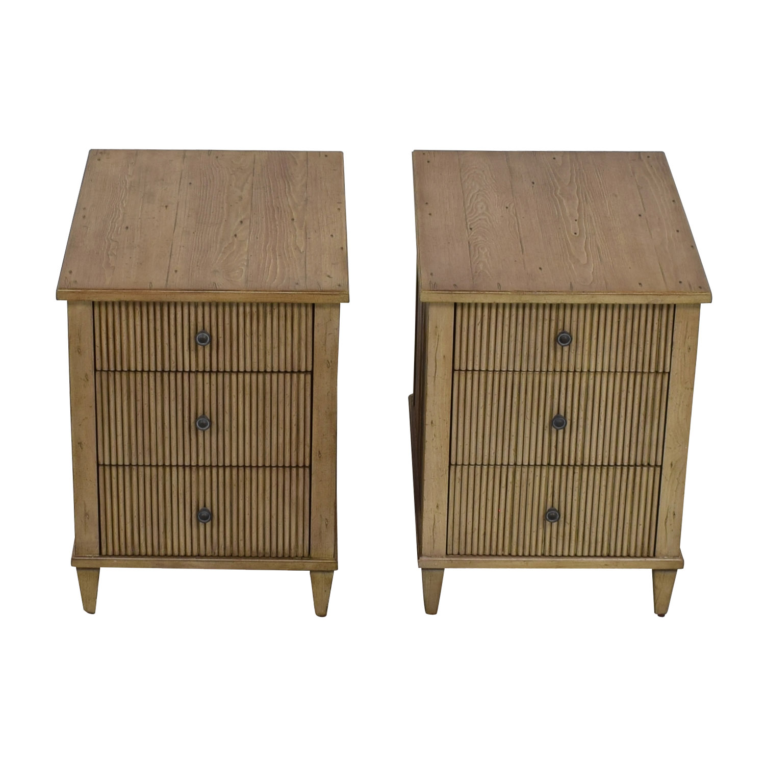 Buy Ethan Allen Three Drawer Nightstands Ethan Allen End Tables