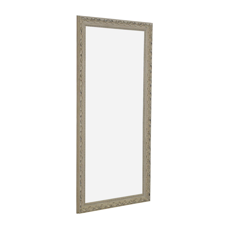 Ethan Allen Ethan Allen Beige Floor Mirror on sale