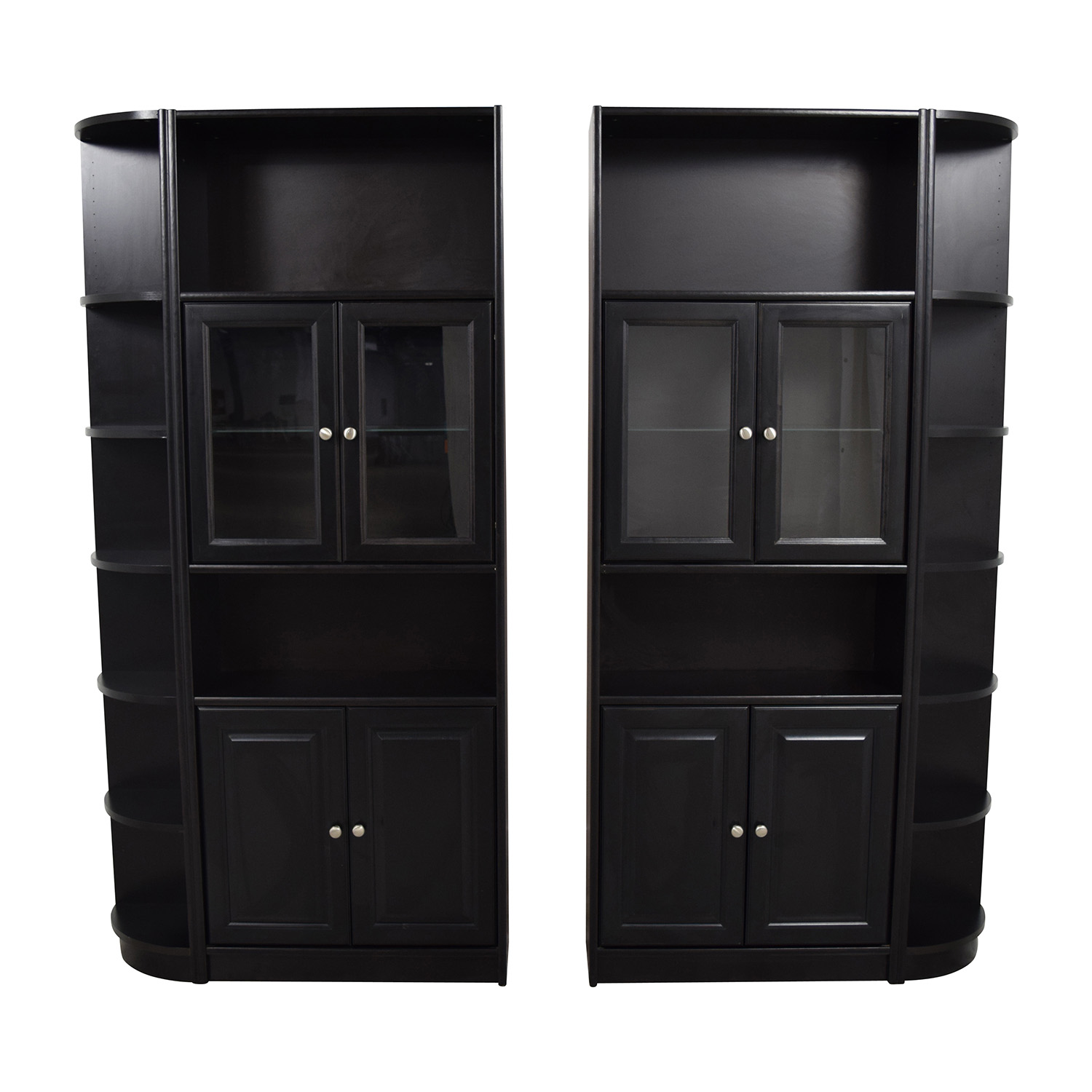 buy Black Wooden Bookcases