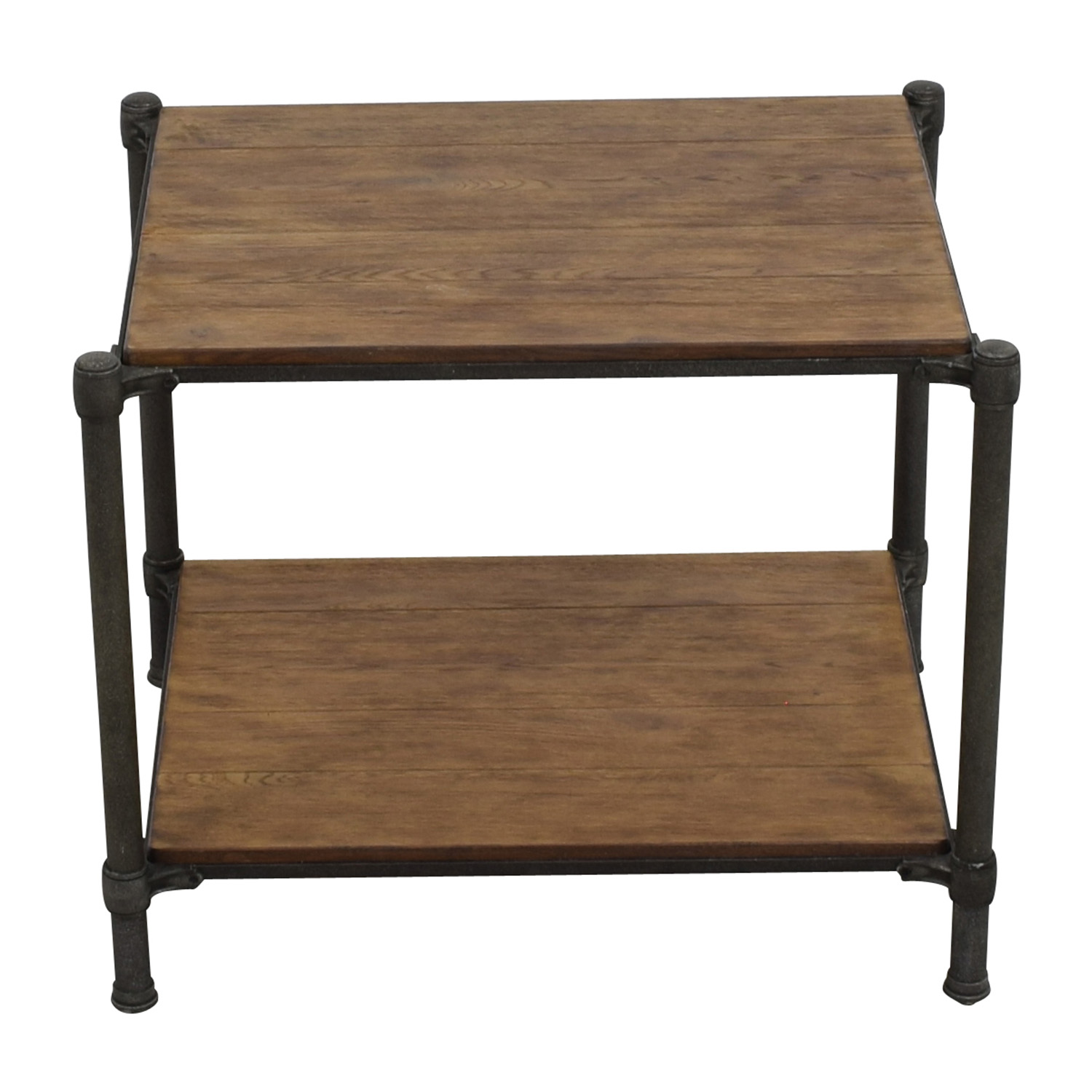 shop Ethan Allen Ethan Allen Metal and Wood End Table online