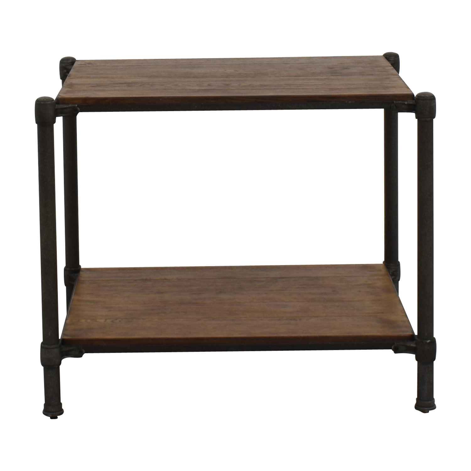 Ethan Allen Ethan Allen Metal and Wood End Table on sale