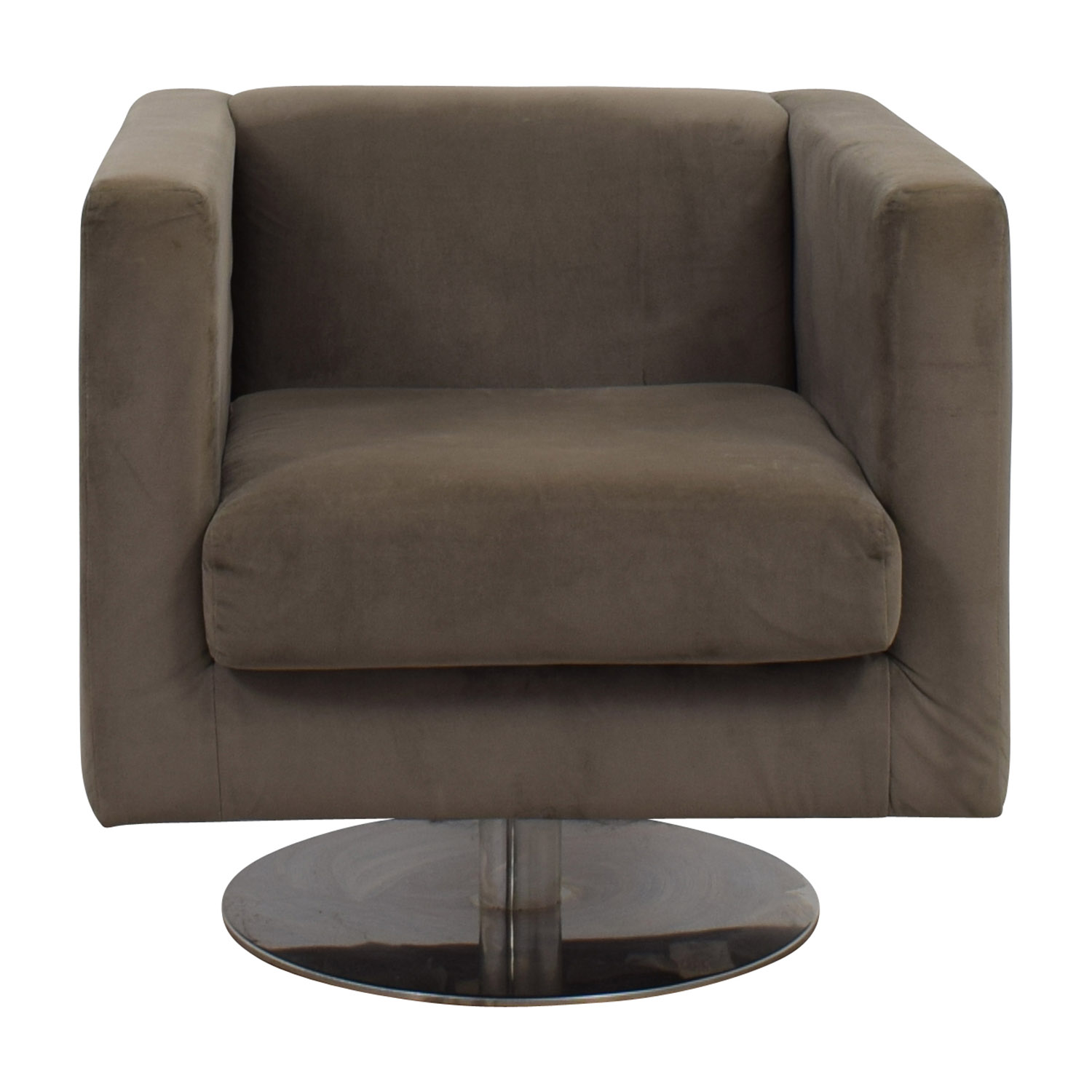 Grey Alex Swivel Chair / Chairs
