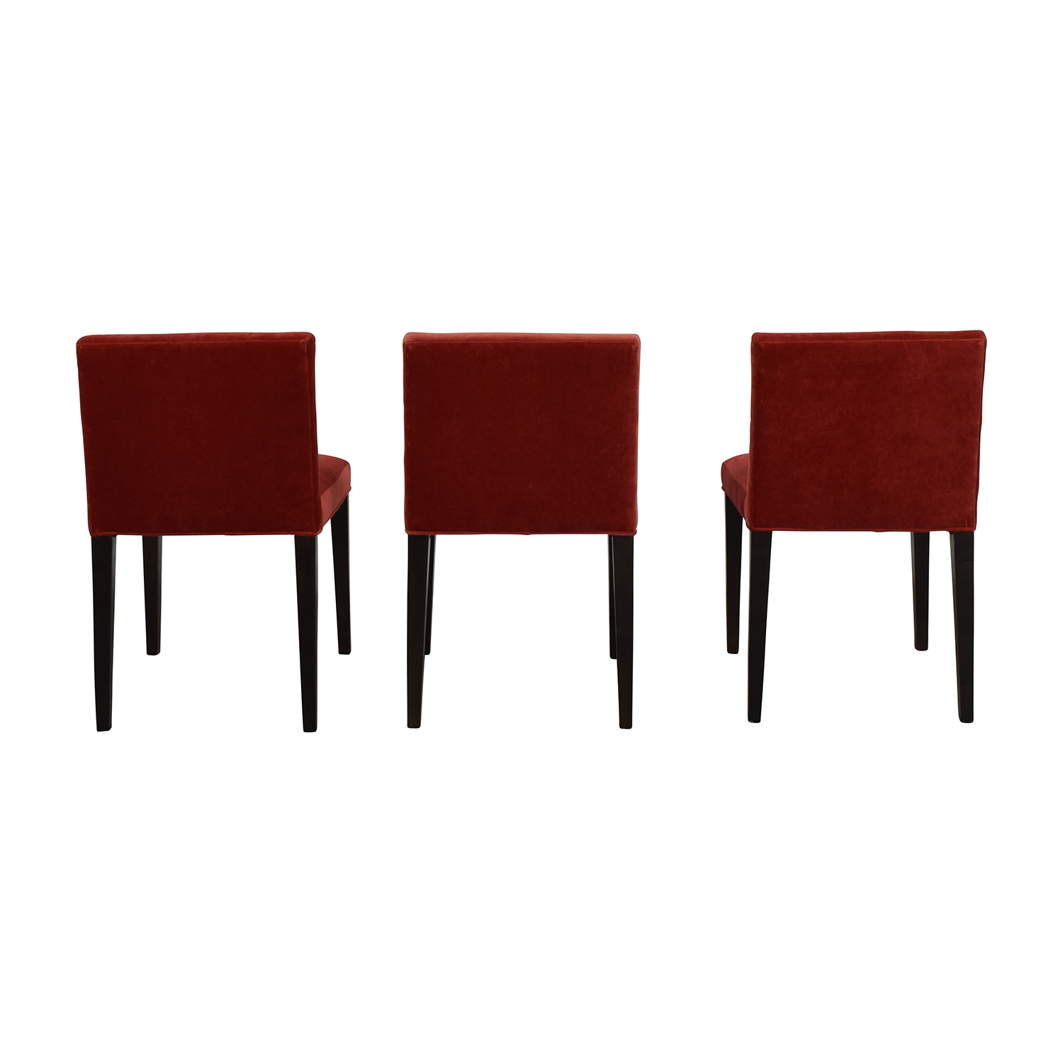 Oslyn Red Chairs Accent Chairs