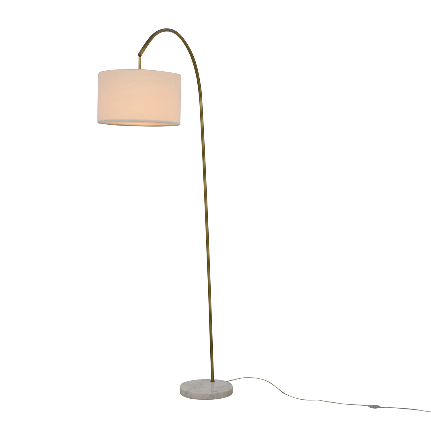 48% OFF - IKEA IKEA Arc Floor Lamp / Decor