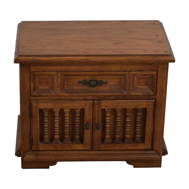 Classic Wooden Nightstand discount