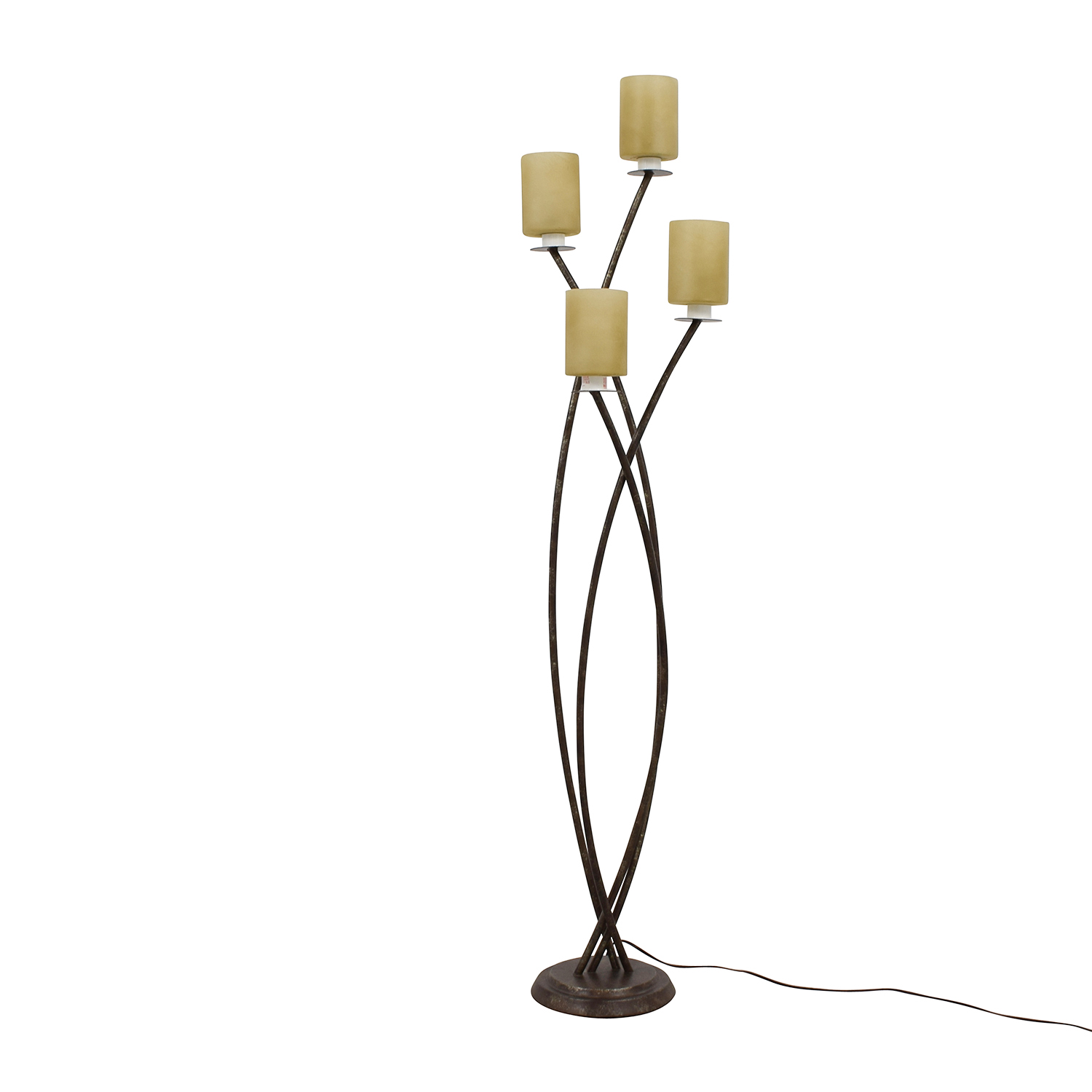 coast shown cfm table in globe pacific lighting course item lamp inch high finish alloy and bronze shade linen