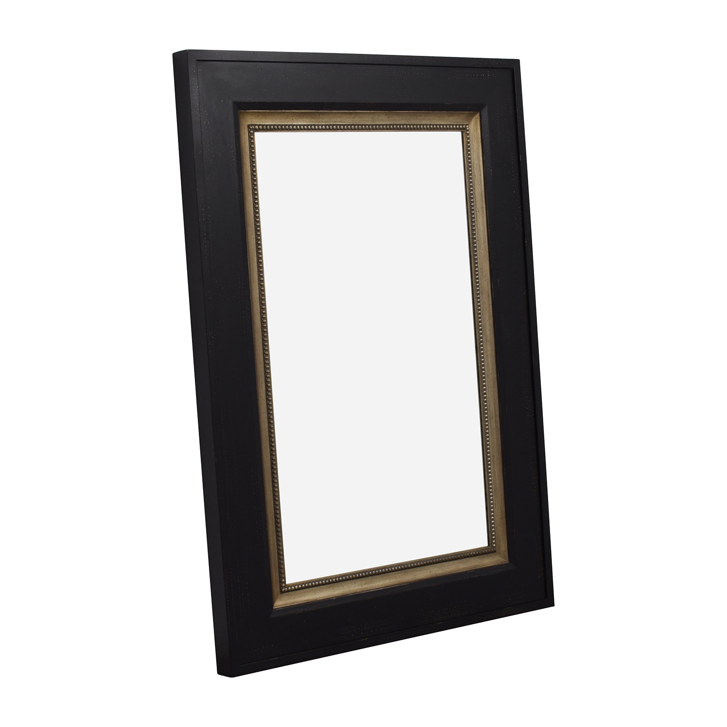 Uttermost Solid Wood Large Brown Mirror sale