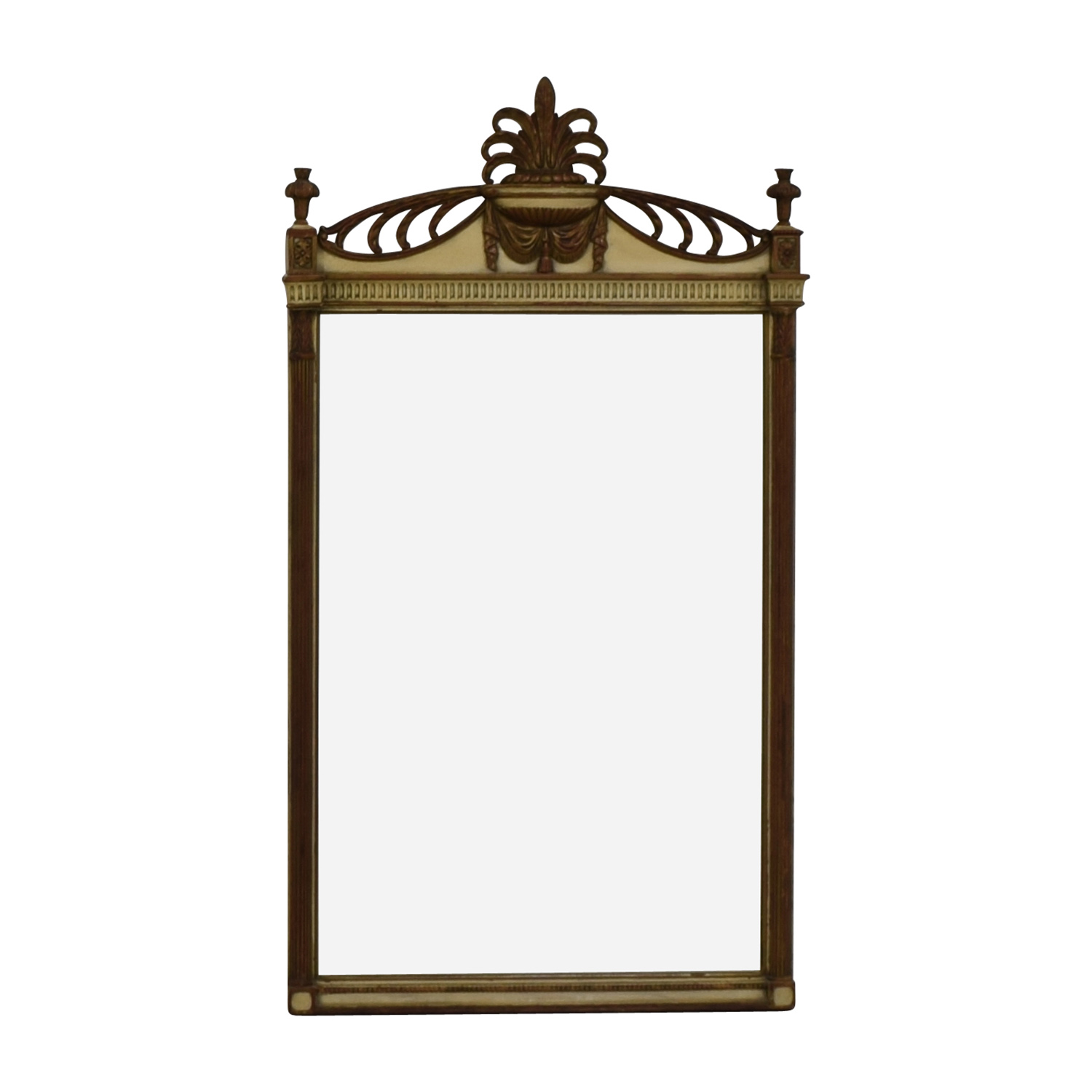 Vintage Rectangular Mirror / Decor