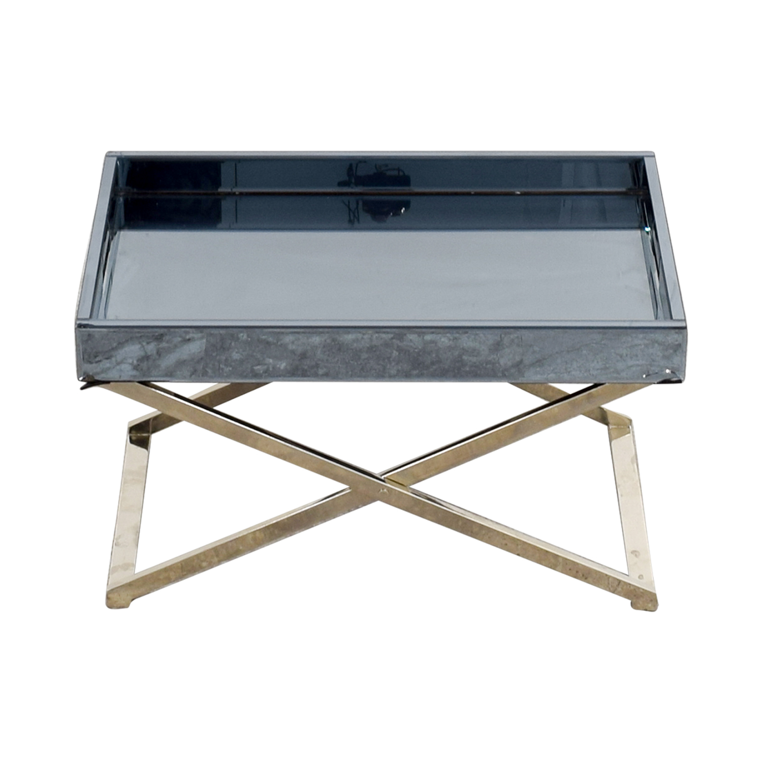buy West Elm West Elm Butler Stand & Mirrored Tray online