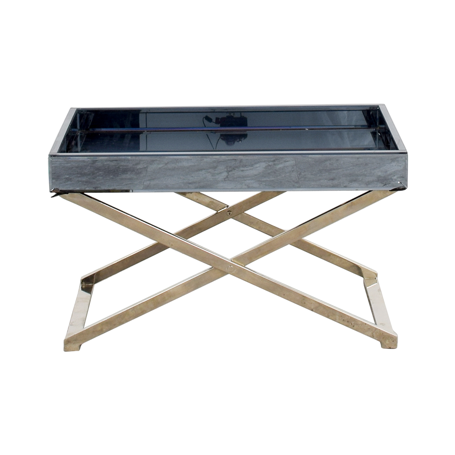 West Elm West Elm Butler Stand & Mirrored Tray coupon